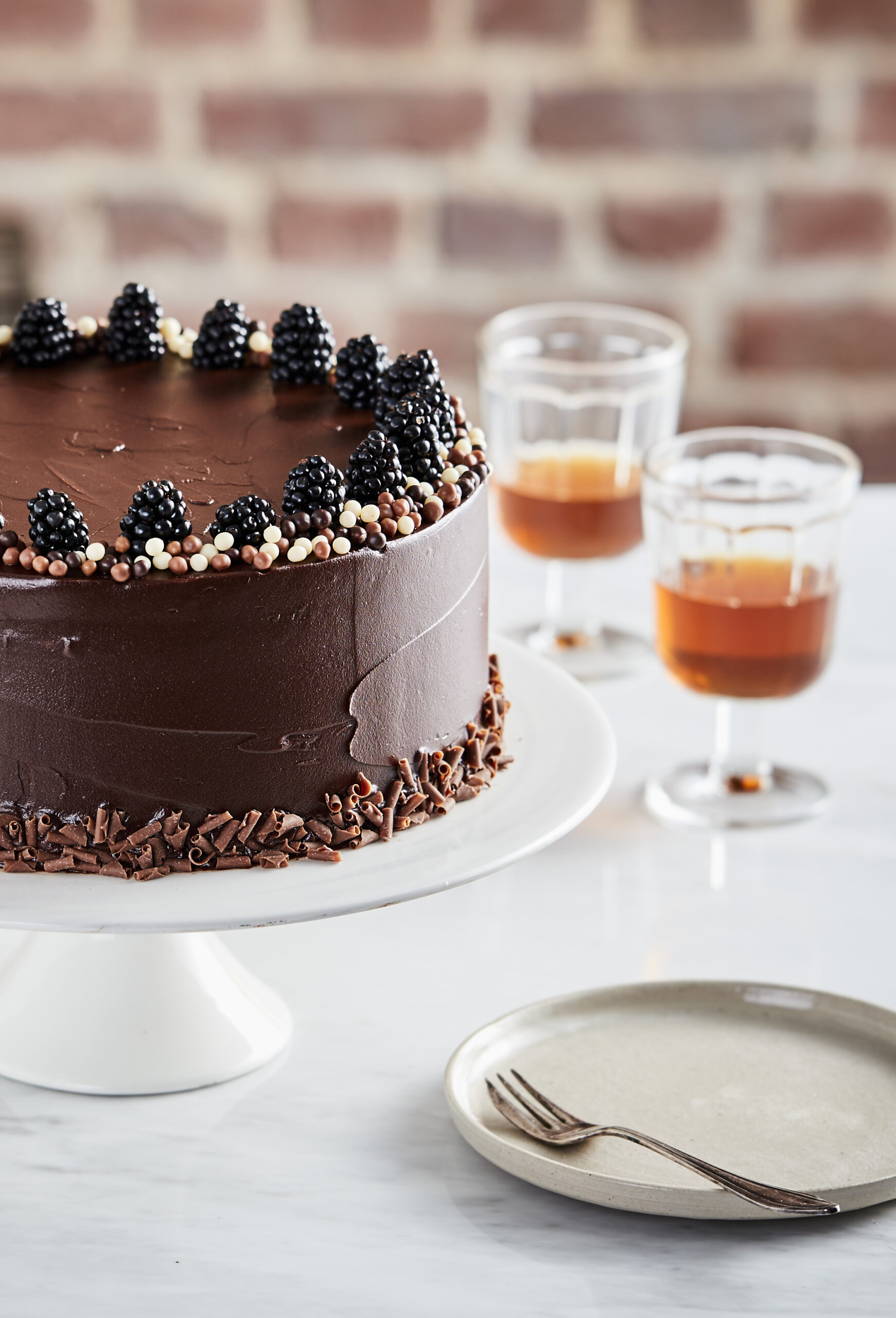 sweets chocolate layer cake